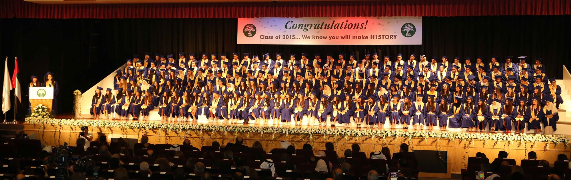 ISC-Dubai Graduation 2015 - May. 22. 2015 - The ...
